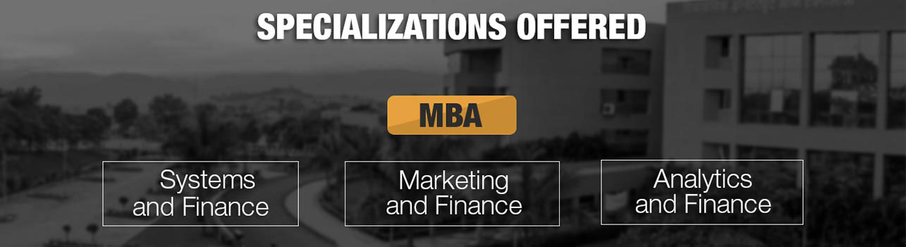 Specializations offered Banner